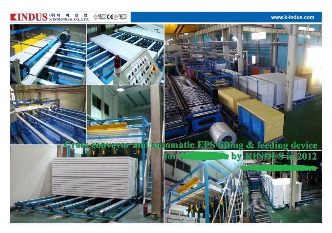 EPS & Glass-wool Sandwich Panel Machinery