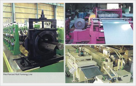 Forming Mill Line (C-Channel Forming, H-Be...