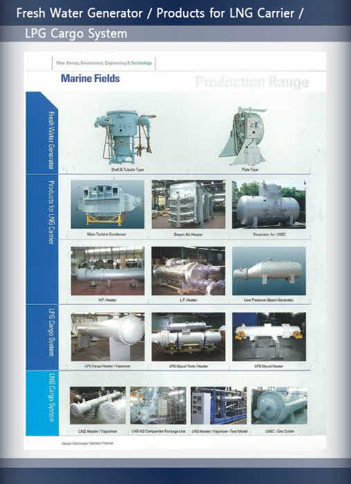 Fresh Water Generator / Products for LNG C...