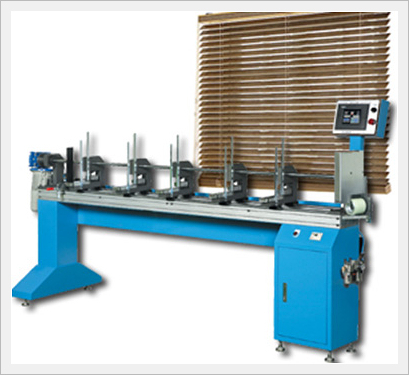 Half Auto Wood Blind Machine