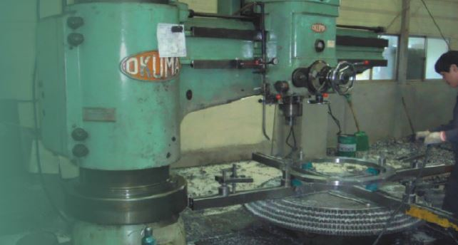Radial Machine, Milling Machine