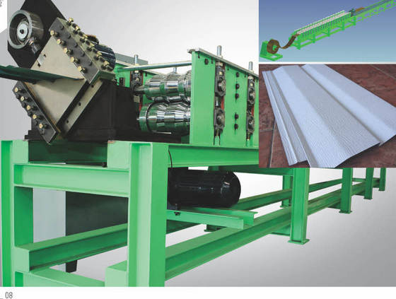 Steel Siding Forming Machine