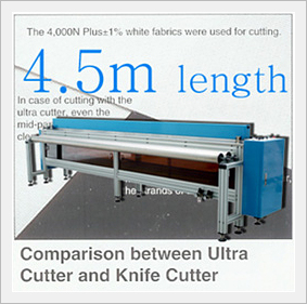 Sunscrren Fabric Cutting Machine