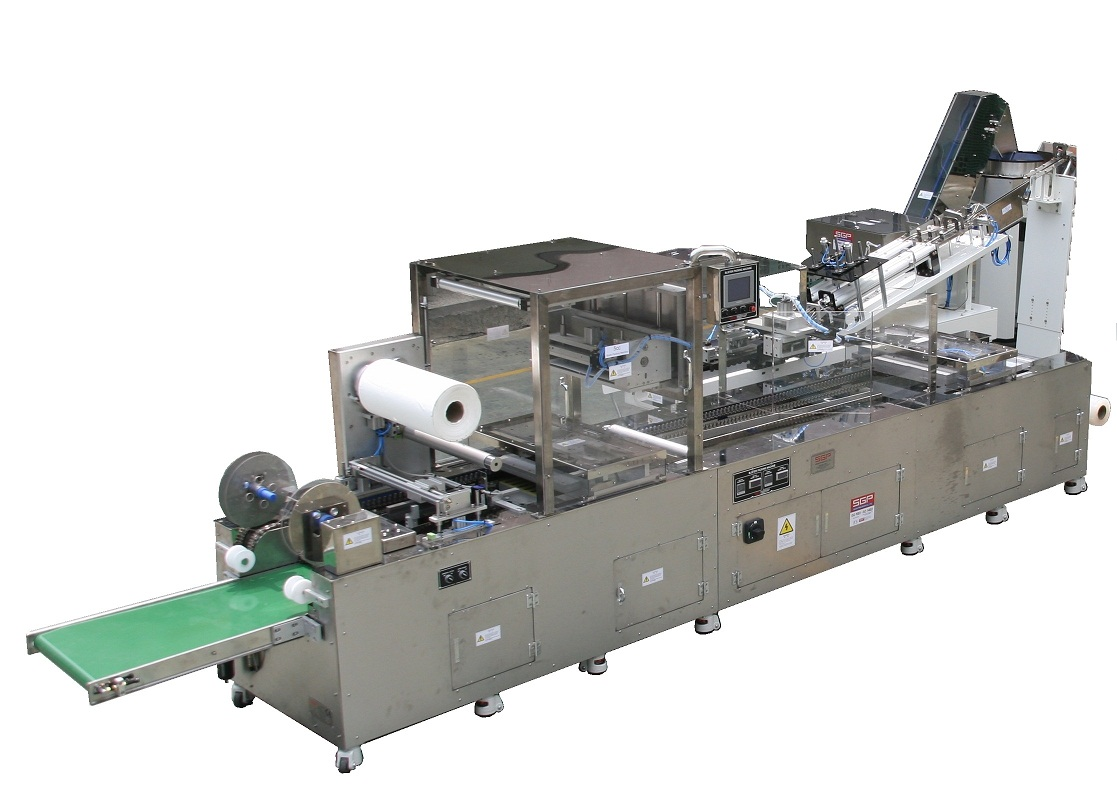 Automatic Blister Packing Machine.