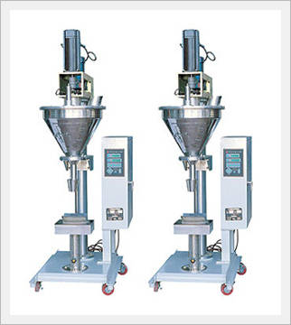 Semi automatic weighing & filling M/C (IAF...