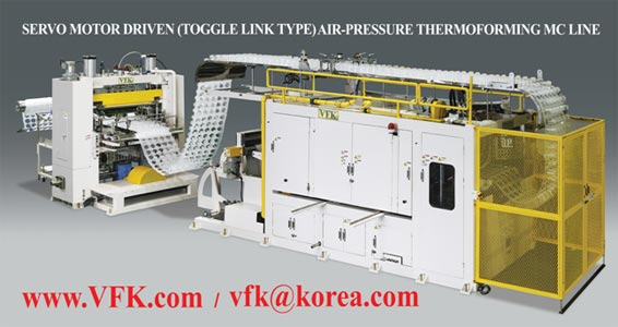 High Speed Air-Pressure ThermoForming MC