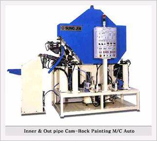Com-Rock Painting Machine