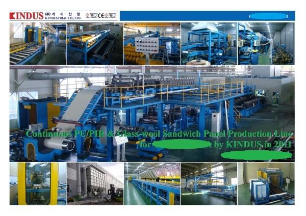 Sandwich Panel Manufacturer Usa : Panel machine products korea