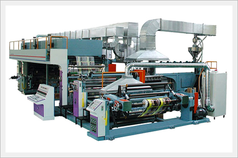 Multi Extrusion Laminating Machine