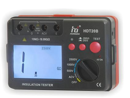 Insulation tester HDT20A