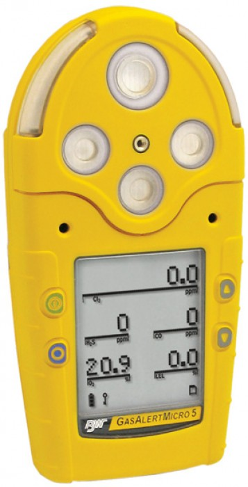 BW multi-gas detector GasAlertMicro 5 M5-X...  Made in Korea