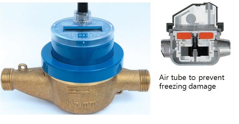 Inside A Gas Meter : Anti freezing water meter manufacturers