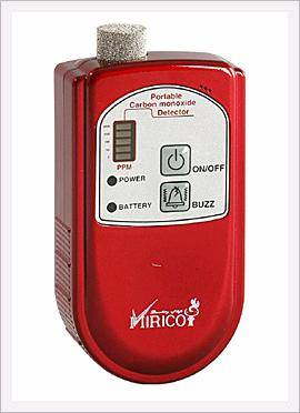 Portable CO Gas Detector