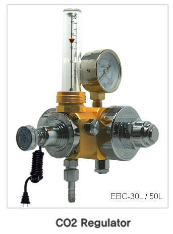 CO2 Gas saving regulator