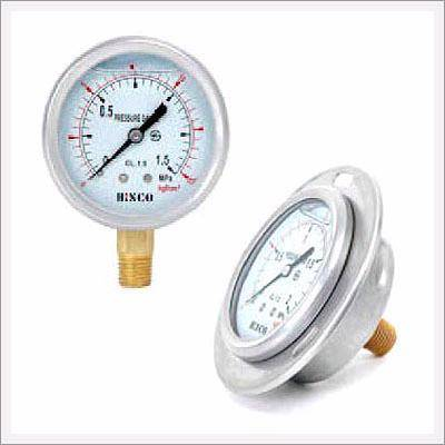 General Liquid Filled Pressure Gauges