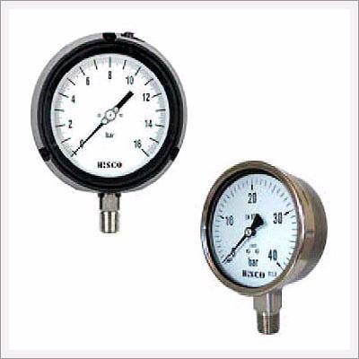 Solid Front Pressure Gauges