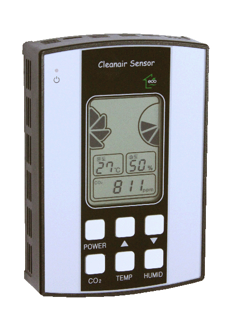 CO2,temperature and humidity alarm control...