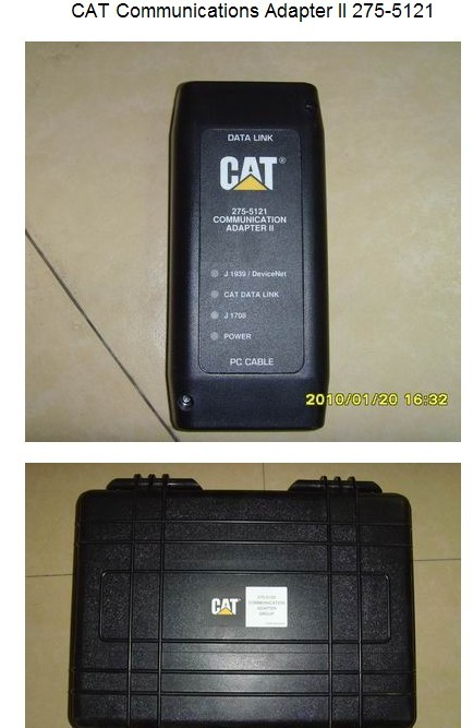 CAT Caterpillar Communication Adapter 2  Made in Korea