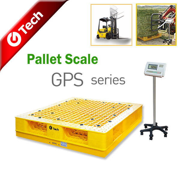 Portable Pallet Scale GPS-series