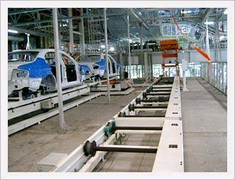 Skid Conveyor System