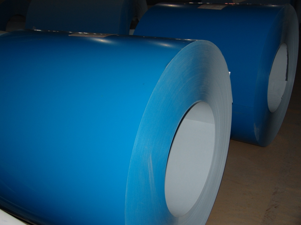 Colour coated sheets manufacturing process - Pvdf Roller Coating Coated Aluminium Coil