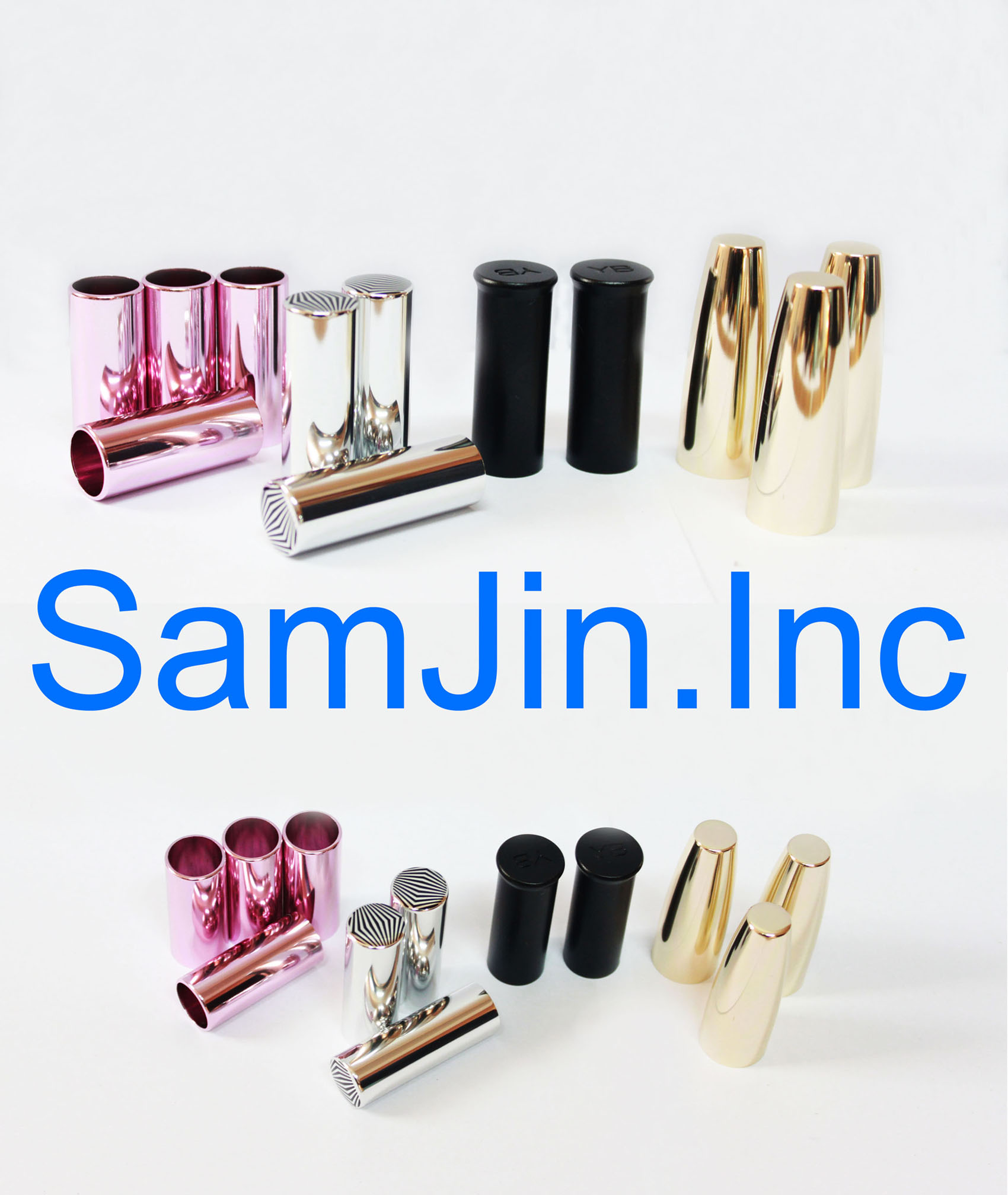 Anodized Aluminum Perfume & Cosmetic Bottl...