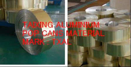 Aluminium strip for pharma bottle caps