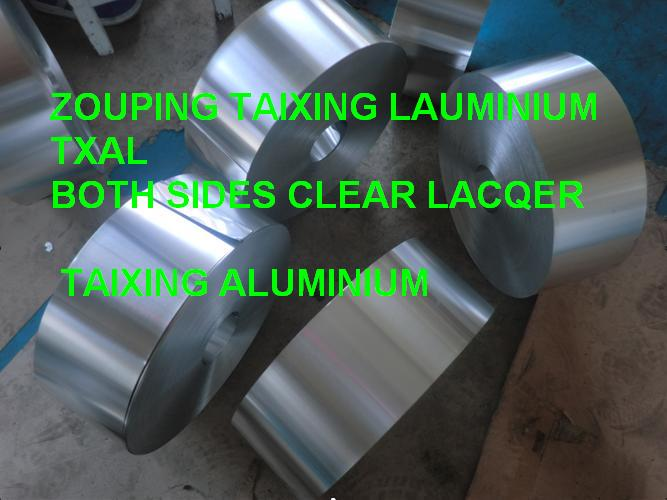 Aluminium strip lacquer for medicine bottl...
