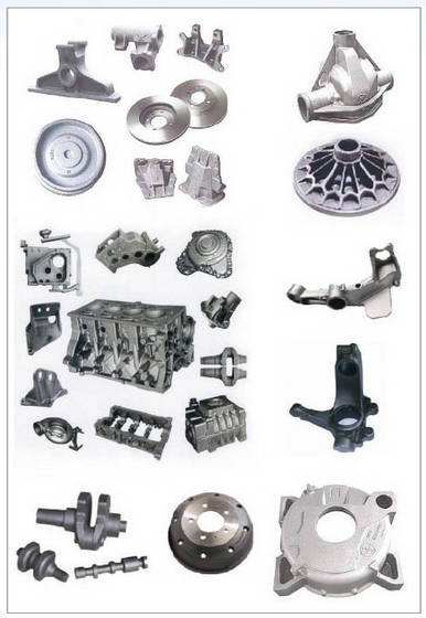 Cast Iron for Automobile