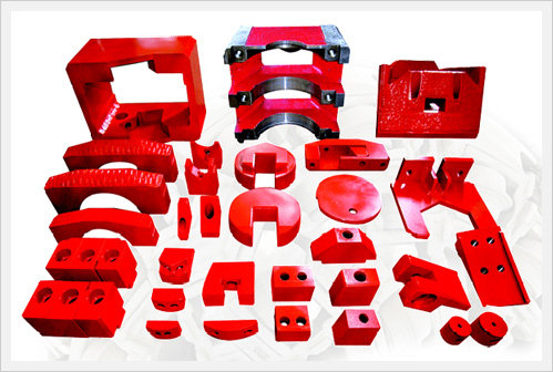 Cutter Head Spare Parts