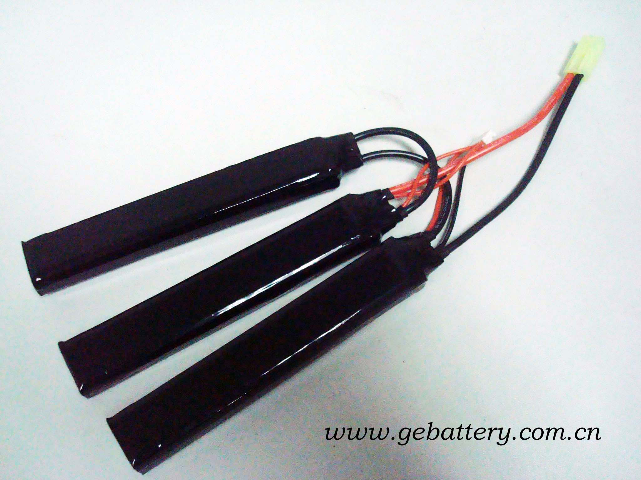 Lipo battery for airsoft gun, 11.1V2200mAh...
