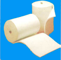 Bio-soluble ceramic fiber blanket