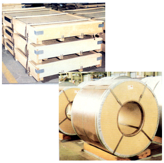Stainless Steel Cold Rolled Sheets & Coils  Made in Korea