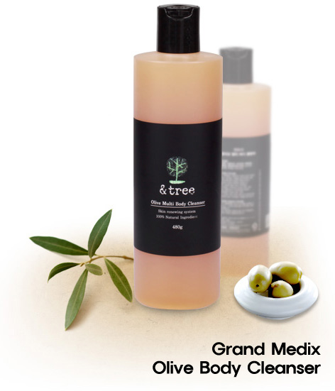 Olive Body Cleanser - Chemical Free Cleans...
