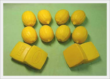 Lemon Shape Natural Fermentation Soap