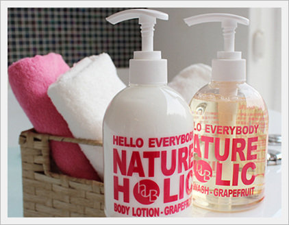 Nature Holic Body Wash Grapefruit