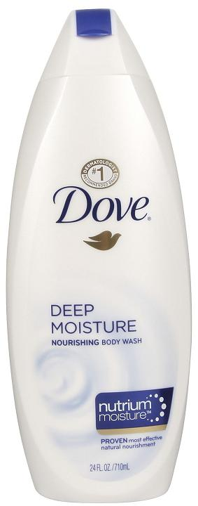 Dove Deep Moisture Body Wash, 24 oz