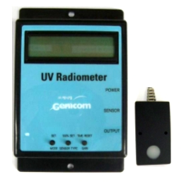 Stationary UV Radiometer 1_MG01  Made in Korea
