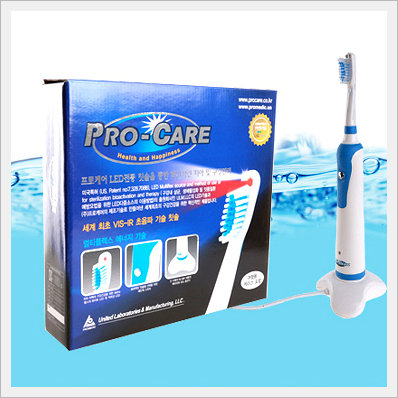 Multiplex LED Electric Toothbrush