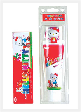 Kids Up Hello Kitty Magnetic Holder Toothp...