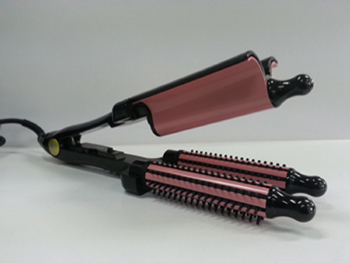 Hair Styler (Curling Iron) Triple Bubble W...  Made in Korea