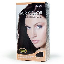 Hair color - Dark brown