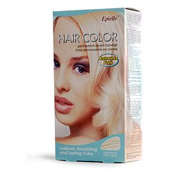 Hair color - Light blonde