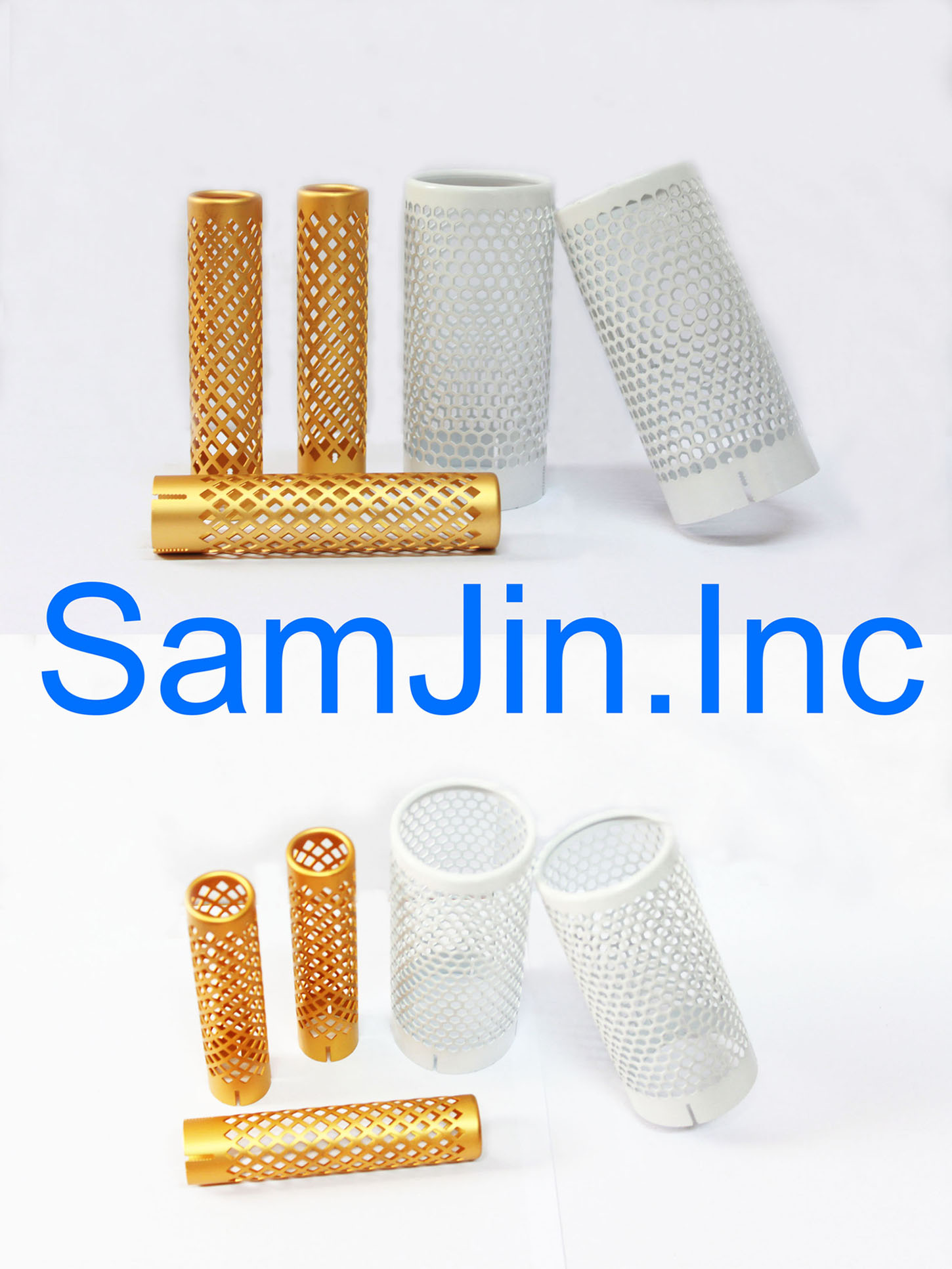 Anodized Aluminum Hair Brush Parts  Made in Korea