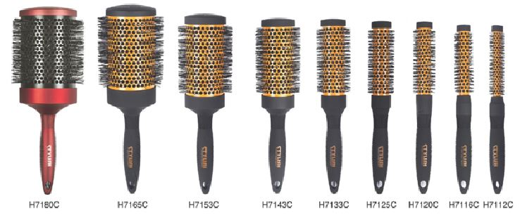 Thermal Brushes (Ceramic Hot Curling Brush...