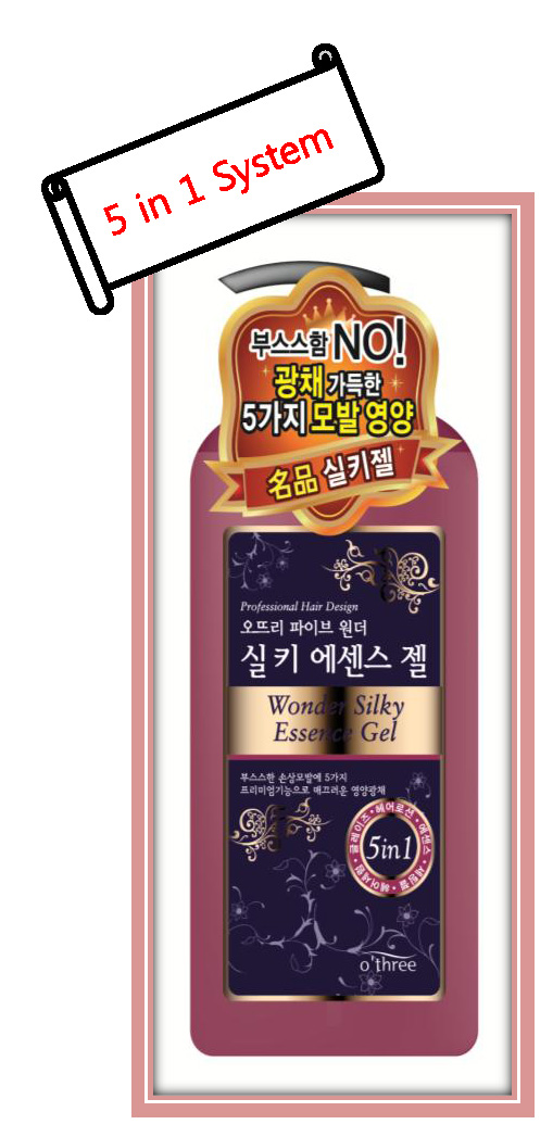 O\'THREE Five Wonder Silky Essence Gel  Made in Korea
