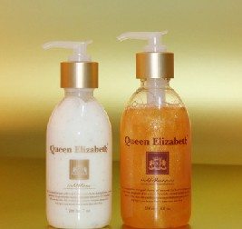 Queen Elizabeth Gold Hair Care