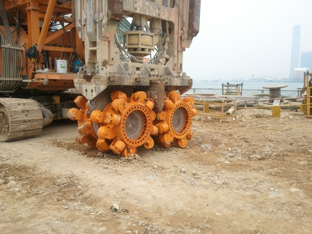 Hard Rock Cutter for Trench cutter
