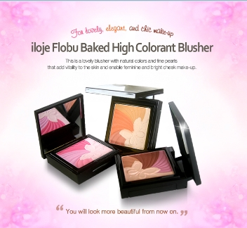 Iloje Flobu Backed High Colorant Blusher