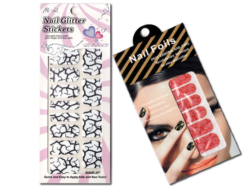 3D Nail Art :: Nail Sticker :: Nail Seal :...